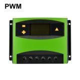 indicador solar do LCD do controlador da carga de 50A 12/24V para o sistema de energia