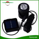 Der 6 LED-Solarteich beleuchtet wasserdichter Scheinwerfer-angeschaltenes Landschaftslicht-Fisch-Becken-Unterwassersolarlicht