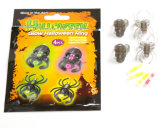 De nieuwe Reeks van de Ring van de Schedel van de Gloed van het Product van Halloween (ZZJZD325)