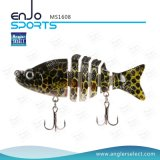Multi-articulé Fishing Life-Like Minnow Lure Bass Bait Swimbait Shallow Artificial Fishing Tackle Fishing Bait (MS1608)