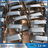 304 de vierkante Type Gerolde Buis van het Roestvrij staal voor Warmtewisselaar