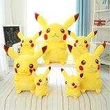 Jouet par jouet mignon mou collectable de poupées de son de peluche de Pikachu de cadeau de Noël