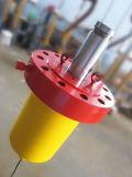 Cylindre télescopique de pétrole hydraulique de la Chine pour la presse à mouler
