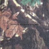 Ouatine polaire d'impression de forêt avec le balai 1 Antipilling latéral de deux côtés
