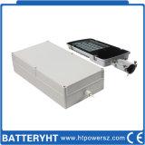 Bateria solar terminal dianteira do sistema Lihium da luz de rua