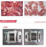 Macchina di taglio a cubetti del porco fresco Fx-350, taglierina congelata della carne della tagliatrice del cubo della carne