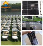 小型のモノクリスタル太陽電池パネル10W