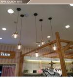 Lámpara pendiente colgante nueva de la lámpara del vidrio LED de 2017 varia dimensiones de una variable