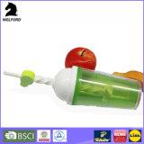 Пластичный вихрь ручно шевеля чашку трасучки изготовленный на заказ логоса чашки цветастую