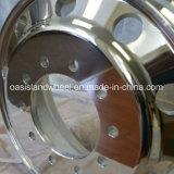 22.5 11r22.5および12r22.5のためのアルミニウムトラックの車輪