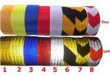 """2 """" X10 silberne weiße Farben-reflektierende Sicherheits-warnender Augenfälligkeit-Band-Aufkleber"""