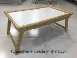 ثني تلفزيون صينيّة طاولة خشبيّة وجبة فطور صينيّة إطار خشبيّة & مقبض