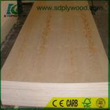 Material material decorativo de la madera contrachapada del pino para los muebles, material de /Building de construcción