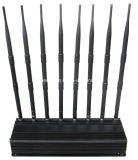 Stampo registrabile stazionario 433MHz/315MHz, GPS, Wi-Fi, VHF, emittente di disturbo del segnale del telefono CDMA GSM GPS 3G WiFi Lojack delle cellule dell'emittente di disturbo 4G di frequenza ultraelevata Lojack