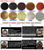 Fibra dei capelli delle donne/uomini di Extention dei capelli in 10 colori