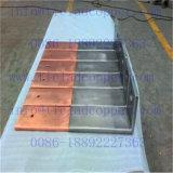 Barre plate de finissage de cuivre titanique pour la fabrication de sel de vide/espace