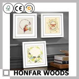 France Contracted Style Wood Picture Frame for Home Decor