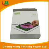 Caixa de papel de pacote de varejo do protetor da tela do vidro Tempered