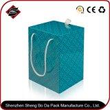 Kundenspezifischer Firmenzeichen-quadratisches Papier-verpackenablagekasten