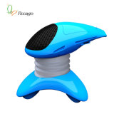 Mini Massager da música do UFO com rádio de FM e ranhura para cartão do TF