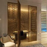 贅沢なインテリア・デザインのホーム家具のステンレス鋼の装飾的な区分スクリーンの壁のディバイダ