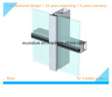 Pared de cortina de aluminio