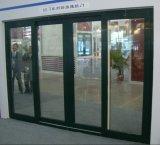 Porta deslizante do Conch 60 PVC/UPVC com três telas