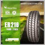 qualité chinoise de pneus radiaux du camion 11r22.5 bonne et pneu bon marché des prix TBR avec le POINT de GCC d'extension
