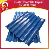 Telhas de plástico recicladas Folha de PVC Preço por metro