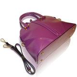 Diseños brillantes clásicos de bolsos con las correas opcionales para los accesorios de las mujeres