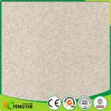 Белая плитка пола PVC серии мрамора цвета