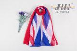 イギリスの国旗パターンプリントスカーフ-3