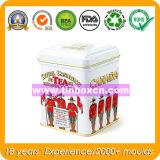 Rundes Tee-Zinn für das Tee-Transportgestell-Verpacken