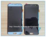L'écran tactile LCD de téléphone mobile manifeste l'Assemblée pour le bord S6 de Samsuny S7 plus