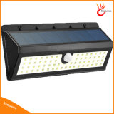 Lampe solaire solaire de détecteur de mouvement de lumière de jardin de 900 lumens