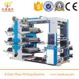 Máquina de impressão estreita de Flexo do Web de duas cores para o papel de empacotamento