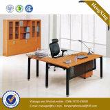 Просто конструкция l стол офиса менеджера вишни формы деревянный (NS-NW106)