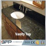 Partes superiores pretas da vaidade do banheiro de Granite&Marble com dissipador