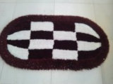 Der Heteromorphism Teppich mit ovalen Hochs und Tiefs-Wollen