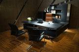 Mesa de escritório &Modern da forma PVC/MDF (YA02)