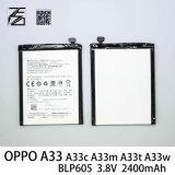 batterie de téléphone mobile de 3.8V 2400mAh pour Oppo A33 A33c A33m A33t A33W Blp605