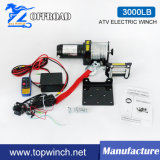 Torno eléctrico del torno campo a través de DC12V/24V ATV (3000lb-2)
