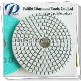 Concreto de mármore do granito que mmói a almofada de polonês seca molhada flexível do diamante