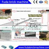 Machine de fabrication automatique de blocs de béton Topten Machine de briquetage entrelacée