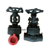 800lb / 1500lb / 2500lb Forged Steel A105 Rosca final NPT Gate Valve