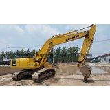 Excavador usado PC220-8 de la correa eslabonada de KOMATSU del excavador PC220-8 (con el martillo)