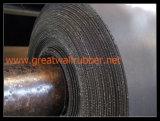 ベストセラーの良質の布の挿入のゴム製シート、EU、ISO9001の範囲の証明書が付いているゴム製フロアーリング