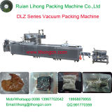 Por completo máquina de empaquetamiento al vacío continua automática de los pescados frescos del estiramiento Dlz-320