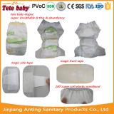 Pañal disponible del bebé de la venta al por mayor más barata del precio de la fábrica de China