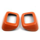 De gloednieuwe ABS Materiële UV Beschermde Oranje Dekking van de Veiligheidsgordel van de Stijl van de Kleur AchterVoor Clubman van Mini Cooper F54 (2PCS/Set)